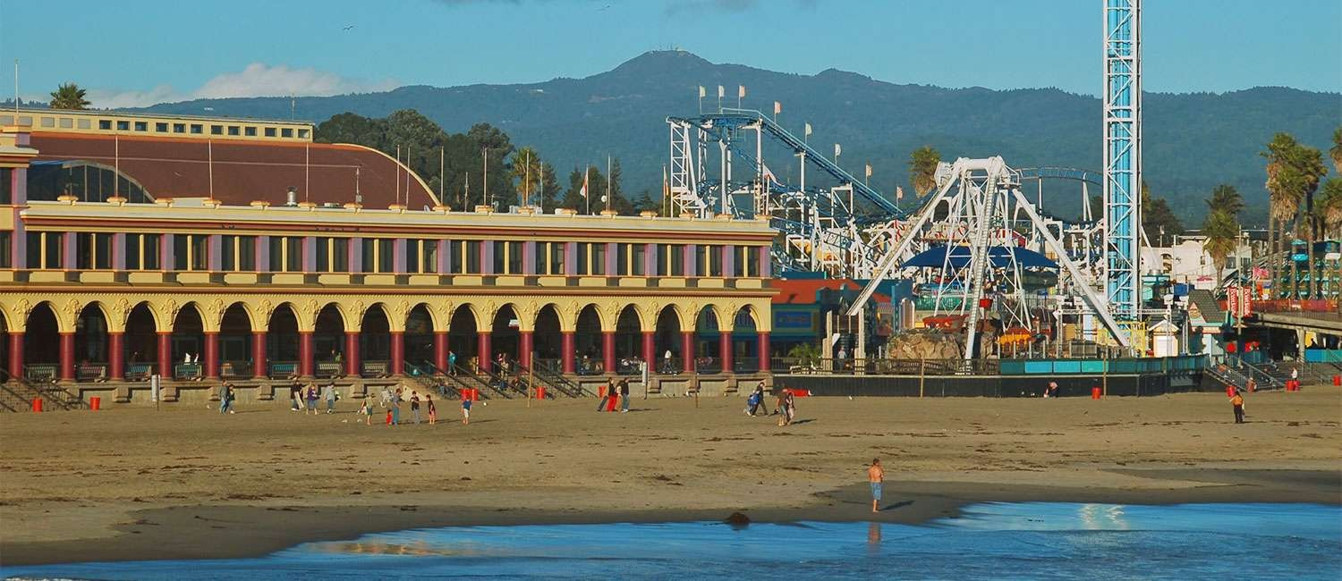 OUR LOCATION IS STEPS AWAY FROM TOP SANTA CRUZ, CA ATTRACTIONS