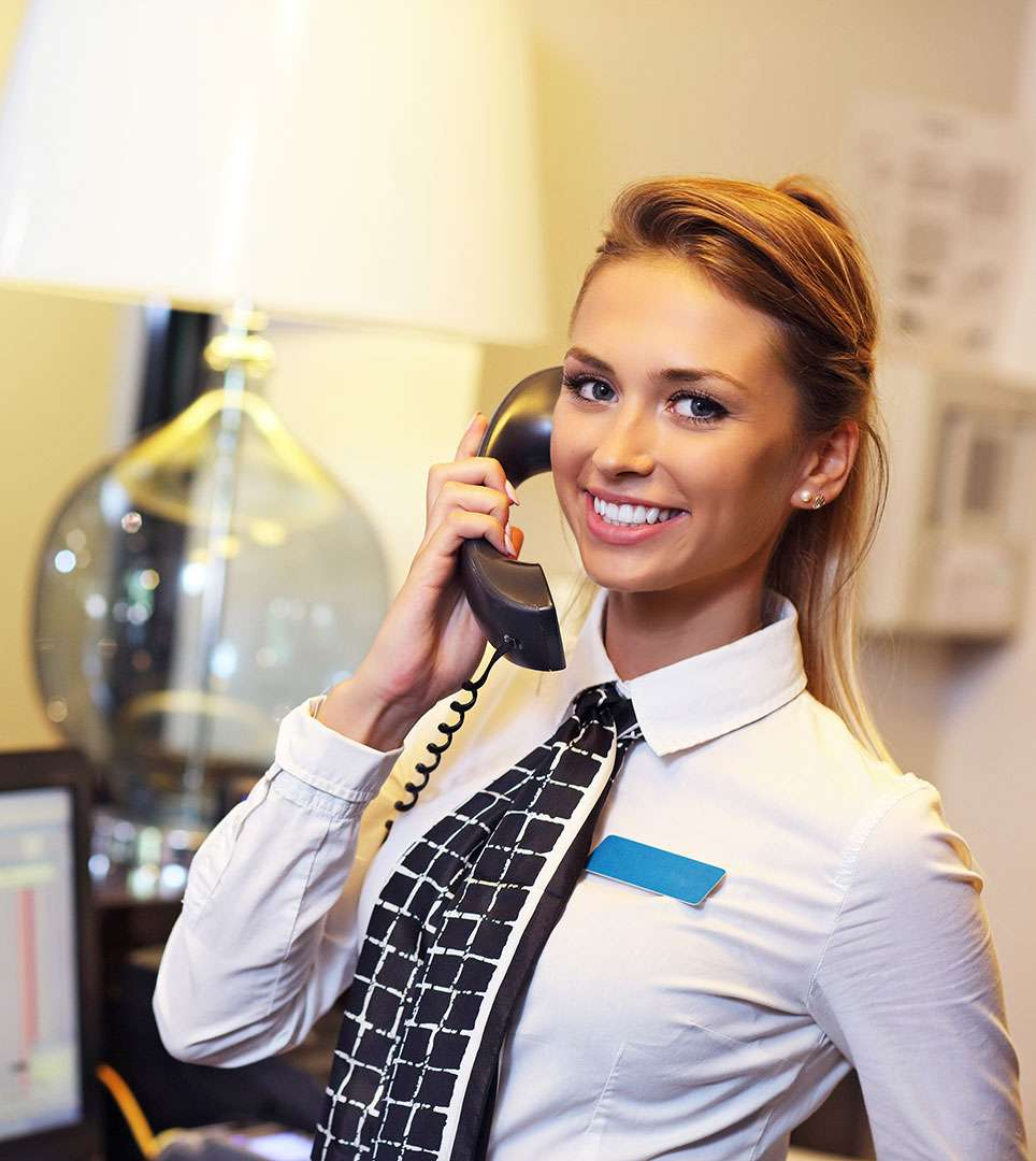 CONTACT OUR HELPFUL 24-HOUR RECEPTION STAFF